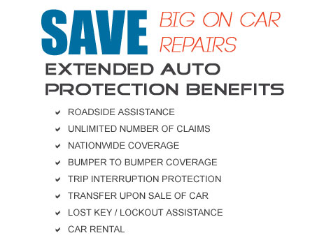 extended warranties for used cars securenet